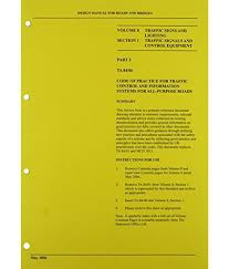 Design Manual For Roads And Bridges Volume 2 Design Manual For Roads And Bridges Buy Design Manual For