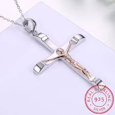 lekani inri crucifix 925 sterling silver infinite