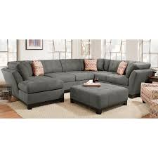 sectional sofa gray. Beautiful Sectional Contemporary Gray 3 Piece Sectional Sofa With LAF Chaise  Loxley Throughout E