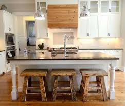 Rustic Looking Kitchens Rustic Modern Kitchen With Antique Look Interior Design Ideas With