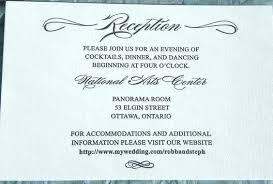 Reception Card Template Wedding Reception Card Template