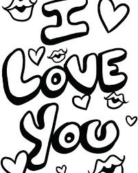 Love You Coloring Pages I Love You Coloring Pictures Love Coloring