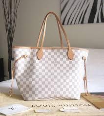 louis vuitton handbags. louis vuitton neverfull white handbags