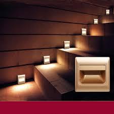 lighting basement. modern recessed led stair light sensor down wall lamp arandela motion led basement bulb porch lighting s