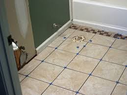 Repair Bathroom Floor How To Install Bathroom Floor Tile How Tos Diy