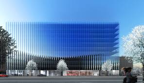 office facades. REX Designs A Concave And Crystalline Office Building For Washington DC | ArchDaily Facades F