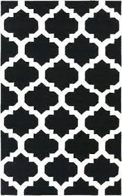 black and white area rugs rug geometric colours harrietta