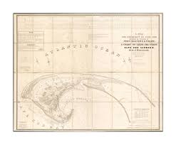 Amazon Com 1835 Map Barnstable Truro Of The Extremity Of