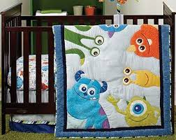 19 best Monster Quilts images on Pinterest   For kids, Monsters ... & Disney Baby Monsters, Inc 4 Piece Crib Bedding Set (Includes Quilt, Crib  Sheet, Dust Ruffle, Diaper Stacker). Adamdwight.com