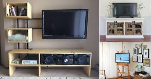 18 creative diy tv stand ideas you can
