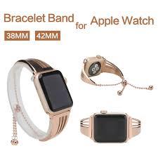 Designer 38mm Apple Watch Bands Us 15 93 40 Off 316l Stainless Steel Designer Watch Band Bracelet For Apple Watch Iwatch4 3 2 1 38mm 42mm Luxury Rosegold Strap Feminino Women In