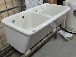 earthenware laundry sink