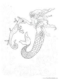Mermaid Fairy Coloring Pages Fairy Mermaid Fairy Princess Coloring