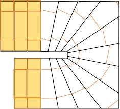 Mit folgendem kalkulator ganz einfach die ausladung einer geraden treppe berechnen: Gewendelte Treppe Fliesen
