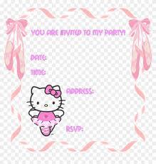 invitation card hello kitty hello kitty party invitation templates hello kitty birthday