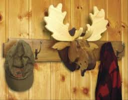 Coat Rack Woodworking Plans Extraordinary Moose Head Coat Rack And Trophy Woodworking Plan 32 Plans Included