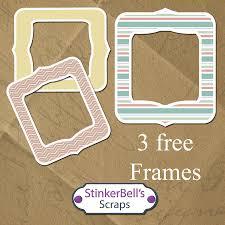 stinkerbell s s emporium free baby angel frames digital sbook png elements