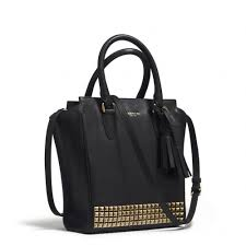 Lyst - Coach Legacy Mini Tanner Crossbody in Studded Leather in Black