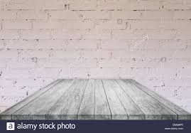 black wood table top. Perspective Black And White Wooden Table Top With Brick Wall Decorated In Coffee Shop Wood Q