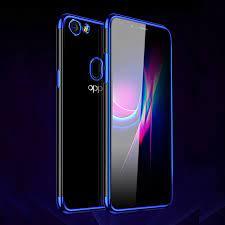 สำหรับ Oppo F5 Ultra Thin Soft ซิลิโคนกรณีชุบโครเมี่ยมกันกระแทกโปร่งใส  Clear fundas สำหรับ Oppo A73 A73T /F5|Phone Case & Covers