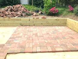 brick patio cost idea deign how much does a uk installation per square foot