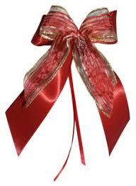10 Weihnachtsschleifen Christbaumschmuck Schleifen Geschenke Weihnachten Ws1958 Bordeaux Rot Gold