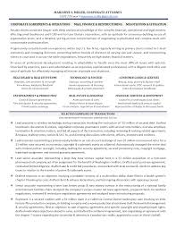 Cover Letter Corporate Attorney Resume Corporate Attorney Resume