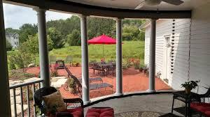 Custom pool enclosure hexagon shape Porch Screen Porch Resilite Mosquito Netting Noseeum Shade Jumbo Sizes
