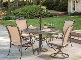 meridian dining set agio heritage 6 piece patio