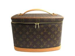 louis vuitton nice vanity bag makeup case m47280 monogram brown reebonz united arab emirates