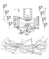 Spark plug wiring diagram 2004 dodge ram hemi wire new