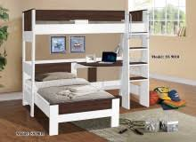 Denver Single Loft Bunk u0026 Single Bed 9010  9011