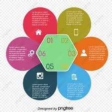Vector Digital Charts Ppt Element Creative Geometry