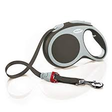 NEW <b>Flexi Comfort Tape</b> Leash Gray 16 ft NEW L Dogs Up To 132 lb