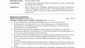 Websphere Application Server Resume Resume Templates Incredible