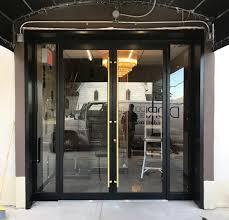 aluminum and glass restaurant door dd744