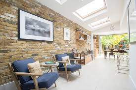 bricks don t have to be constrained to just external walls with exposed brick walls becoming a classic feature for your new extension