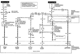 lincoln town car my air suspension is out on my 91 town car here is a wire diagram to help testing assuming its the 30 amp fuse blowing let me know if you have questions thanks