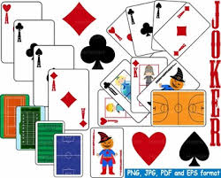 Printable Playing Card Poker Playing Cards Clip Art Casino Games Math Paper Heart Ace Printable 145