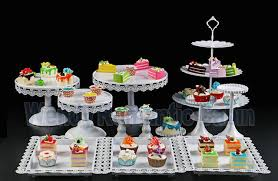 How To Display Cupcakes Without A Stand Cool Aliexpress Buy White Wedding Dessert Tray Cake Stand Cupcake