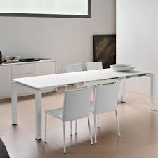 Fashionable And Sleek Calligaris Enterprise Dining Table Sets : Innovative  White Extra Long Airport Extending Dining ...