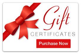 Mount Shasta Hotel Restaurant Gift Certificates