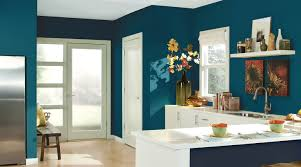 Teal Kitchen Kitchen Color Inspiration Gallery Sherwin Williams