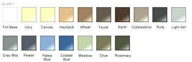 rust oleum countertop colors