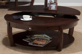 Coffee Table:Round Wood Coffee Table With Storage Round Coffee Table With  Storage Wood Round