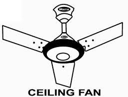 maya white and brown ceiling fan 1200 mm warranty 1 year