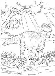 Small Picture Aladar And Other Group Of Dinosaur The Movie Coloring Pages