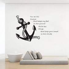 You Are My Anchor Quote Wall Decals ...