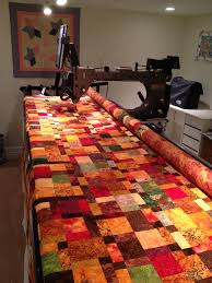 Gallery of Quilts | Machine Quilting Services of Vermont & fall quilt Adamdwight.com