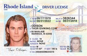 Island Ids - Idviking ri License Fake Id Scannable Rhode Drivers New Best